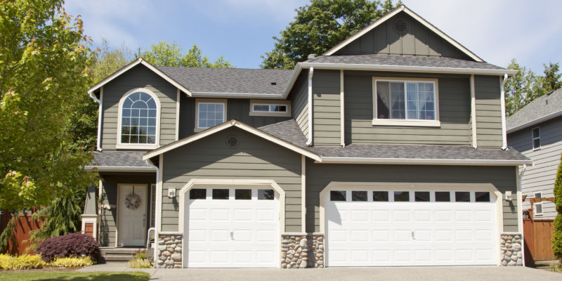 modern steel garage door | Star Solutions Garage Door